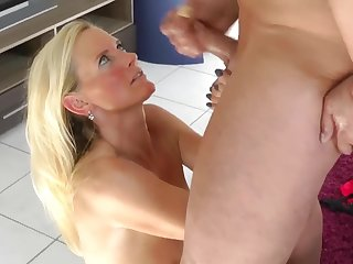 Facial Money Shot From My Personal Trainer! - mature