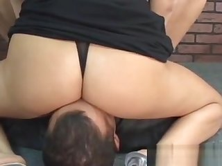 Fine Ass Woman Nice Smothering Vagina Licking Xxx Scenes
