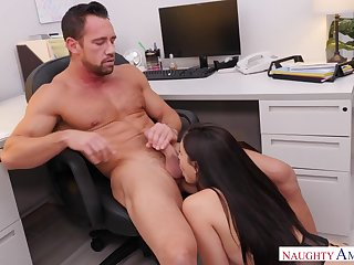 Ariana Marie Gets Promoted, Fucked Hard And Cum-Coated - NaughtyOffice