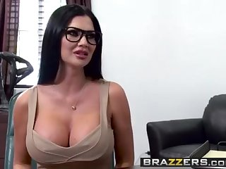 Giant Orbs at Work -  Quid Professional Inhale episode starring Jasmine Jae  Keiran Lee